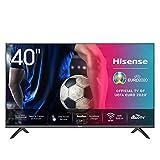 Hisense 40AE5500F 100cm (40 Zoll) Fernseher (Full HD, Triple Tuner DVB-C/S/S2/T/T2, Smart-TV, Frameless, Prime Video, Netflix, YouTube, DAZN)