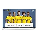 CHiQ 40 Zoll (100 cm), Android 9.0, Smart TV, FHD, WiFi, Bluetooth, Google Assistant, Netflix, Prime Video, HDMI, USB