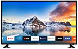DYON Smart 43 XT 108 cm (43 Zoll) Fernseher (Full-HD Smart TV, HD Triple Tuner (DVB-C/-S2/-T2), Prime Video, Netflix & HbbTV) [Modelljahr 2020]