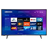MEDION X15580 138,8 cm (55 Zoll) UHD Fernseher (Smart-TV, 4K Ultra HD, HDR 10, Micro Dimming, Netflix, Prime Video, WLAN, PVR, Bluetooth)