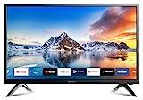 DYON Smart 24 XT 60 cm (24 Zoll) Fernseher (HD Smart TV, HD Triple Tuner (DVB-C/-S2/-T2), Prime Video, Netflix & HbbTV) [Modelljahr 2020]