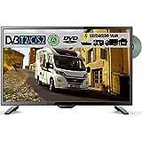 Reflexion LDDW280 LED HD Fernseher 28Zoll TV DVB-S2/C/T2 DVD 12/24/230 Volt