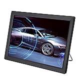 Garsent Tragbar Fernseher, 14 Zoll Tragbarer 1080P HD TV TFT LED Fernseher, Car Digital TV Support AV/Memory/USB/HDMI/VGA, Audio Video Multimedia Player für Outdoor Reisen/Schlafzimmer/Wohnwagen