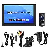 Digital TV,12 Zoll Mini Tragbarer Fernseher 1080P 16: 9LED Handheld Digital Analog TV für Küche,Schlafzimmer,Wohnwagen