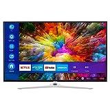 MEDION X15010 125,7 cm (50 Zoll) UHD Fernseher (Smart-TV, 4K Ultra HD, Dolby Vision HDR, Micro Dimming, MEMC, Netflix, Prime Video, WLAN, Triple Tuner, DTS, PVR, Bluetooth)