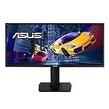 Asus VP348QGL 86,36cm (34 Zoll) Gaming Monitor (UWQHD, 21:9, HDR-10, Adaptive-Sync/FreeSync, Shadow Boost, 4ms Reaktionszeit) schwarz